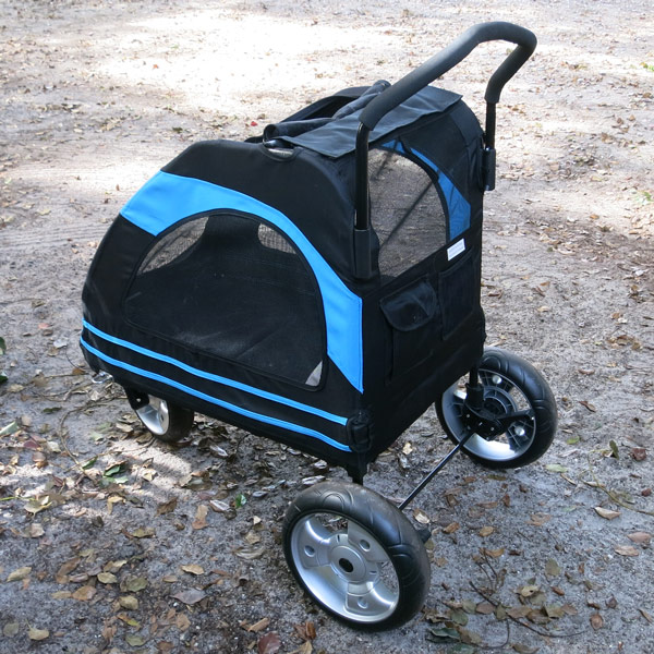 Dog Stroller - rear view